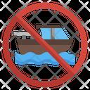 No Boating Icon