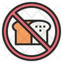 Bread No Prohibited Icon