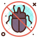 No Bug Insect Fly Icon