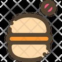 Burger No Junk Icon