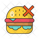 Burger Fastfood Restricted Icon