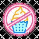 Sweet Cake Food Icon