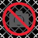 Camera Photo Stop Icon