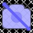 No-camera Icon