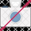 No Camera Prohibited Camera Restrict Camera Icon