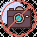 No Camera No Photograph No Photo Icon