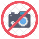 No Camera Banned Not Allowed Icon
