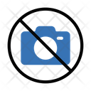 Photography Camera Notallowed Icon