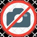 No Camera Icon