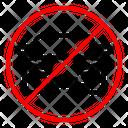 No Car No Parking Car Icon
