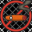 No Cigar Cigar Tobacco Icon