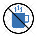 Tea Coffee Ban Icon