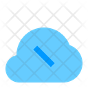 No Connection Cloud Network Icon
