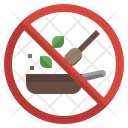No Cooking Icon