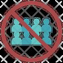 No Crowd Icon