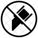 No Cut Cutter Icon