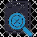 No Data Missing Icon