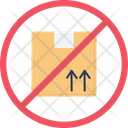 Cardboard Do Not Boxes Icon