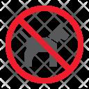 Dog Pet Stop Icon