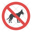 No Dogs Allowed Sign Icon
