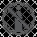 No Alcohol Forbidden Icon