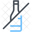 Bottle Drink No Drink Icon