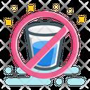 No Drink Fasting Muslim Icon