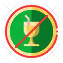 No Drink Drinking Icon