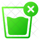 No Drink Fasting Prohibited Icon