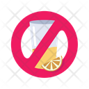No Drink Fasting No Alcohol Icon