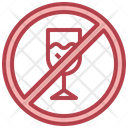 No Drink No Alcohol Food And Restaurant Icon