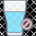 No Drinks Icon