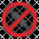 No Drug Icon