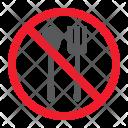 No eat Icon