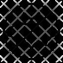Avoid Crowd Virus Covid 19 Icon