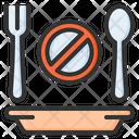 No Eating Ramadan Fasting Icon