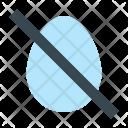 No Eggs Icon