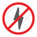 No Electricity Power Icon