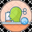 No Energy Low Energy Mental Energy Icon