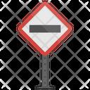No Entry Wrong Icon