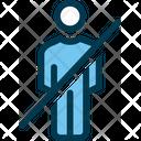 No Entry Man Male Icon