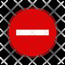 Ban Stop Block Icon