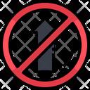 No Entry Road Ban Entry Road Navigation Icon