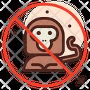 No Evolution No Monkey No Animal Icon