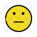 No expression emoji Icon