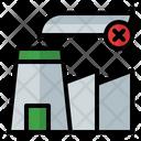 No Factory Pollution Icon