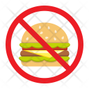 No Fastfood Fitness Icon