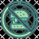 Nofastfood No Fastfood Icon