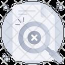 No Data Found No File Search No Document Icon