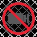 No filming Icon